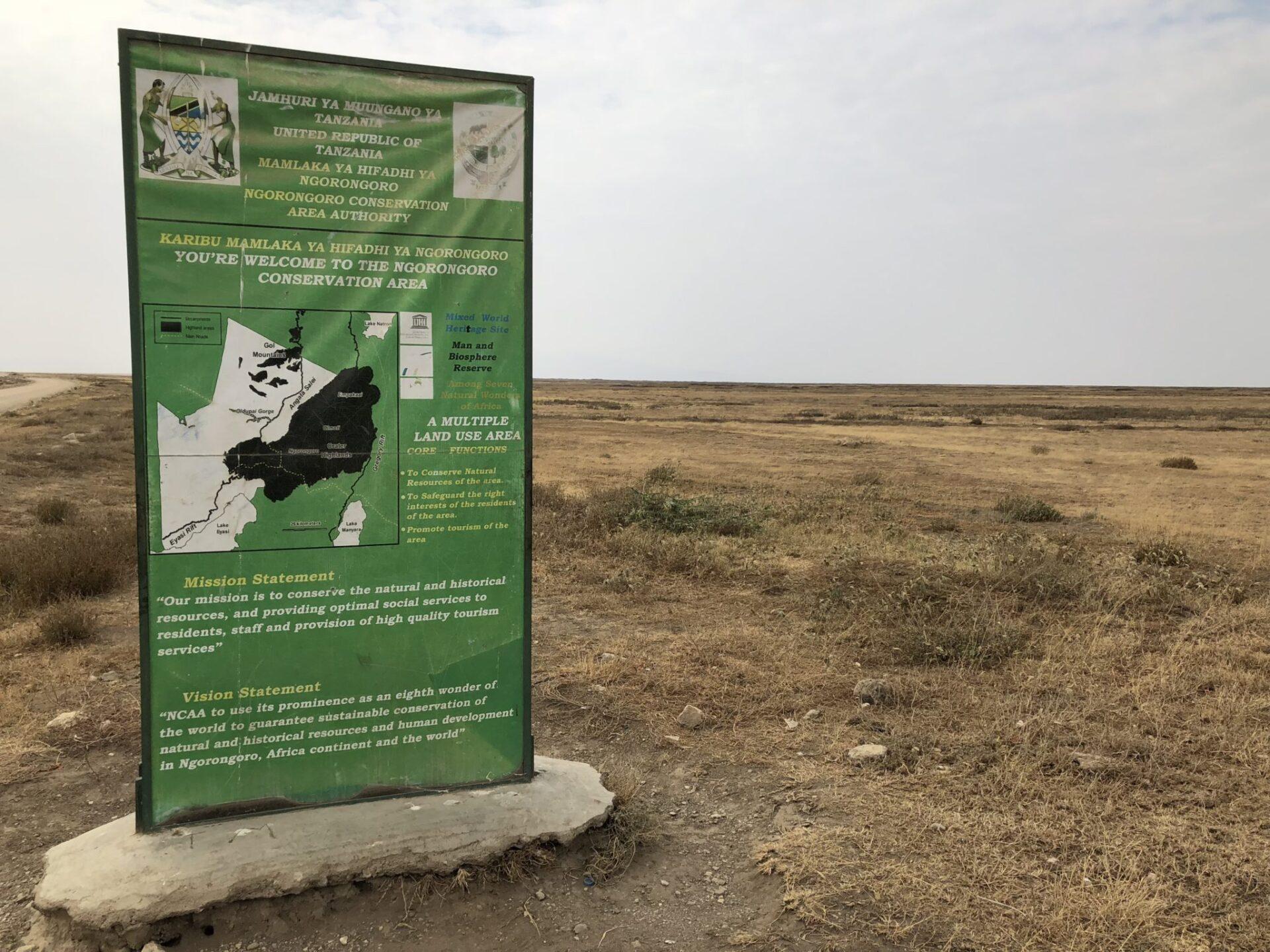 ngorongoro conservation area � mappery